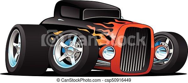 Old Fashion Car Clean Clipart