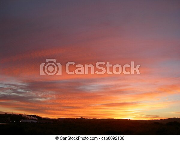 Hot Sky - csp0092106