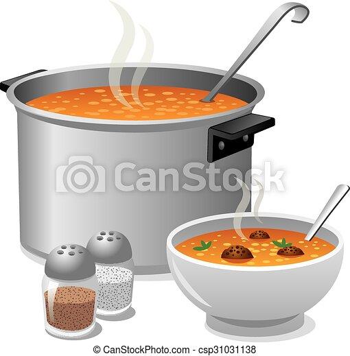 hot soup - csp31031138