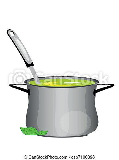 hot soup pan - csp7100398