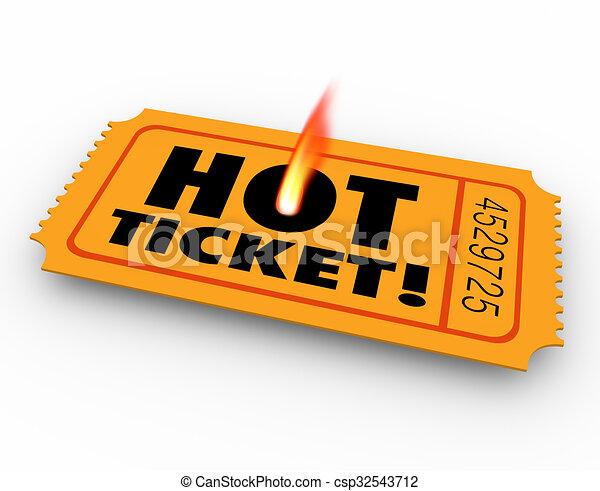 hot ticket popular event elusive rare scarce admission pass concert rh canstockphoto com 50/50 raffle ticket clipart raffle ticket winner clipart
