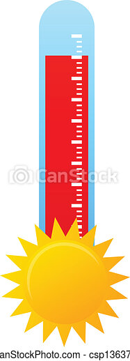 Hot Weather - csp13637816