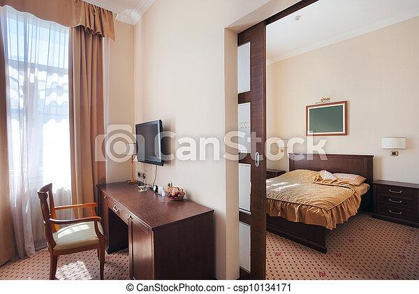 Hotel apartment interior  - csp10134171