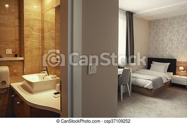 Hotel Apartment Interior - csp37109252