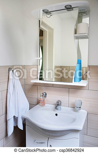 hotel bathroom - csp36842924