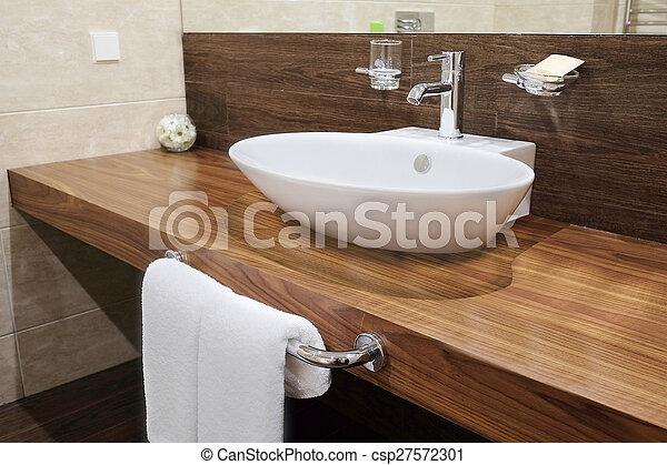 hotel bathroom - csp27572301