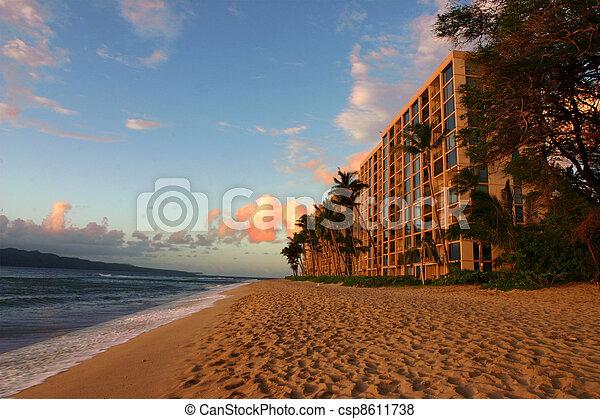 Hotel Beach - csp8611738