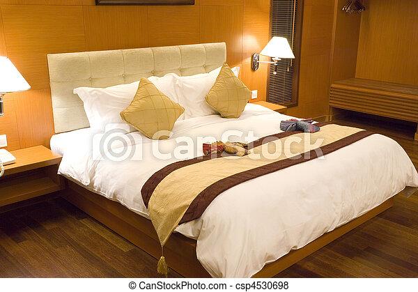 Hotel Bedroom - csp4530698