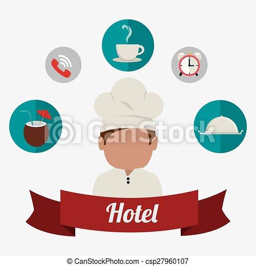 Diseño de hoteles. - csp27960107