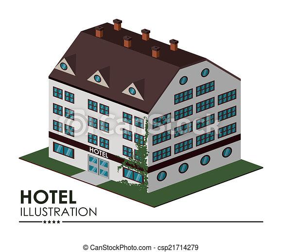 Diseño de hoteles - csp21714279