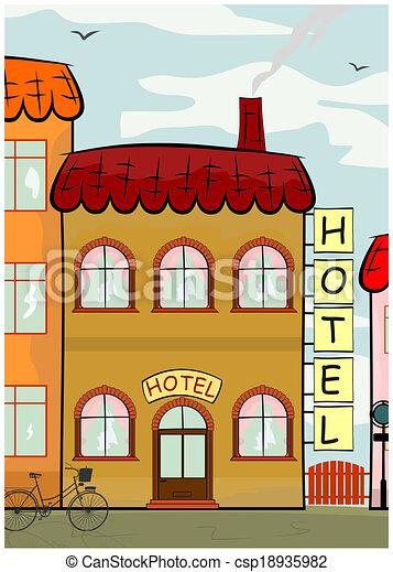 Hotel - csp18935982