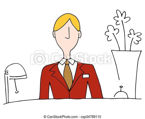 Hotel Front Desk Manager