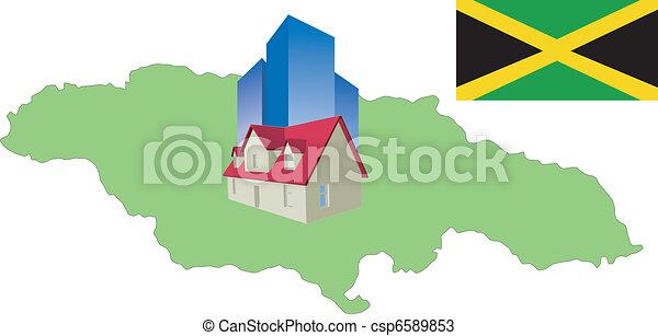 hotel in Jamaica - csp6589853