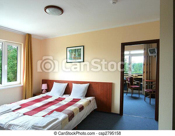 Hotel interior - csp2795158