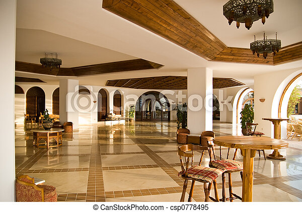 Hotel interior - csp0778495