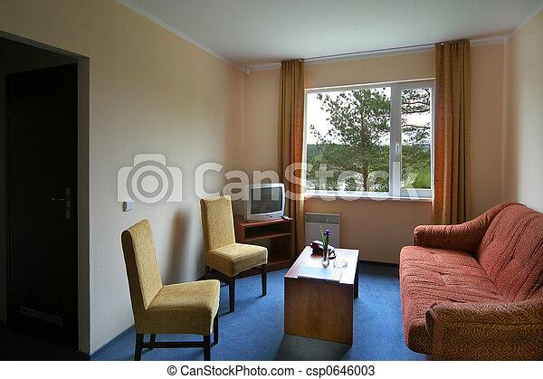 Hotel interior - csp0646003
