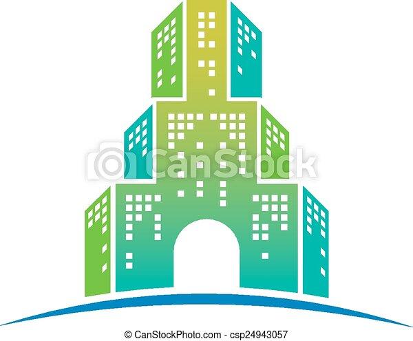 Gran icono del hotel - csp24943057