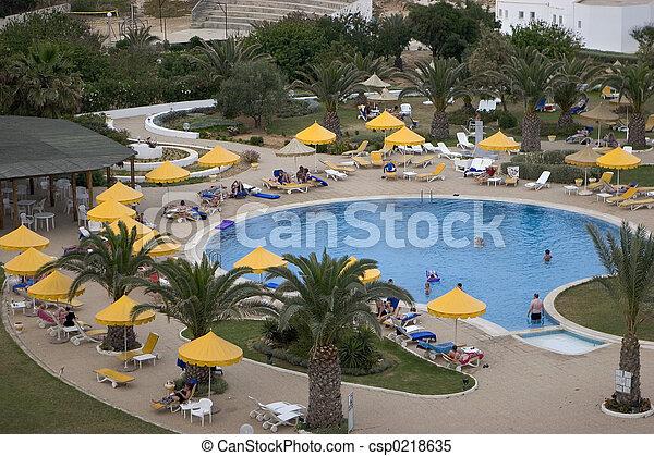 Hotel Pool - csp0218635