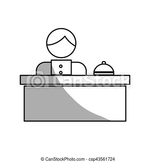 hotel related icon image - csp43561724