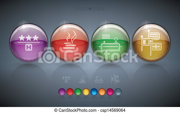 Hotel Related Icons - csp14569064