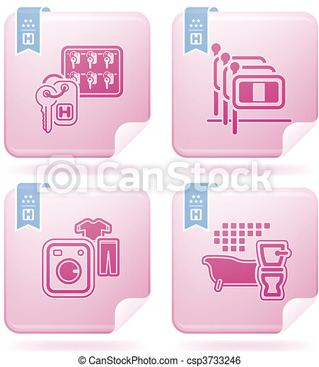 Hotel Related Icons - csp3733246
