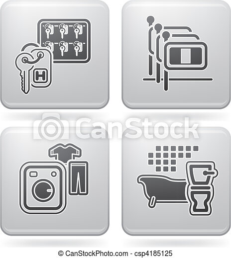 Hotel Related Icons - csp4185125