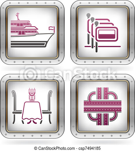 Hotel Related Icons - csp7494185