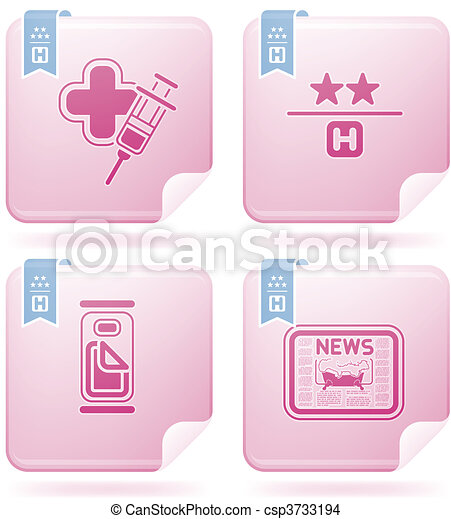 Hotel Related Icons - csp3733194
