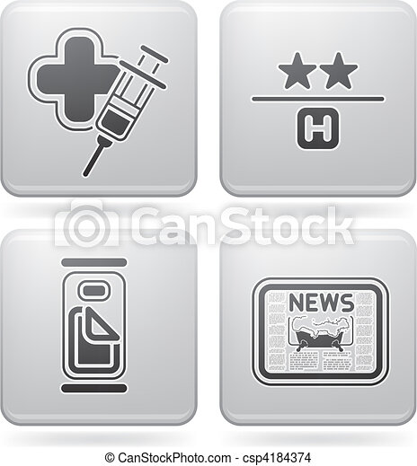 Hotel Related Icons - csp4184374