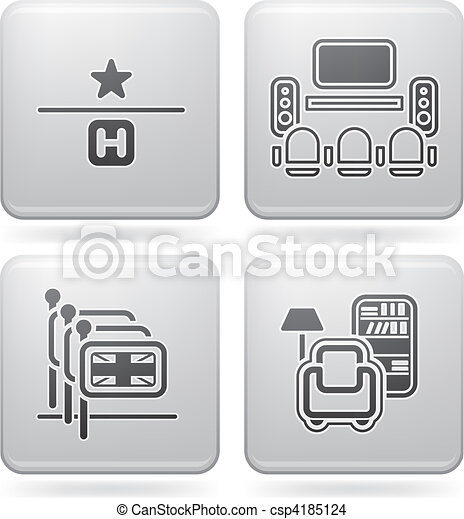 Hotel Related Icons - csp4185124
