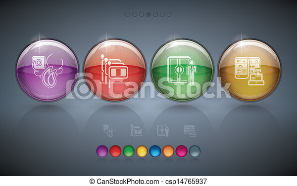 Hotel Related Icons - csp14765937