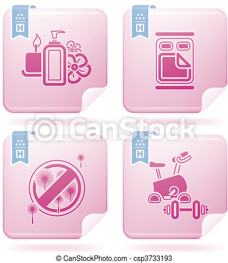 Hotel Related Icons - csp3733193