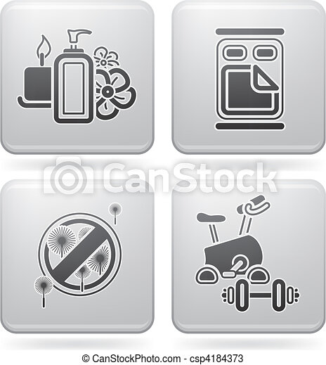 Hotel Related Icons - csp4184373