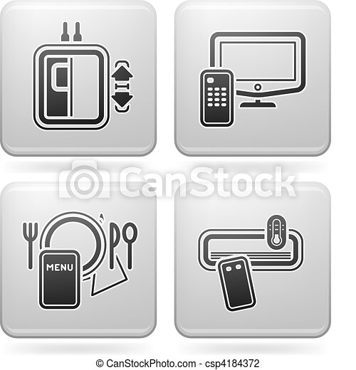 Hotel Related Icons - csp4184372