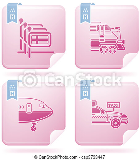 Hotel Related Icons - csp3733447