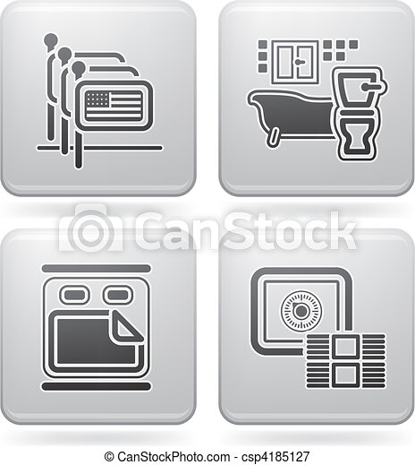 Hotel Related Icons - csp4185127