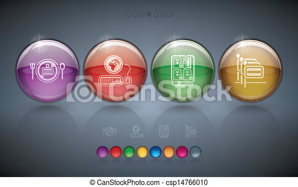 Hotel Related Icons - csp14766010