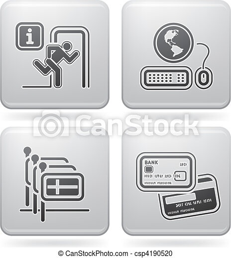 Hotel Related Icons - csp4190520