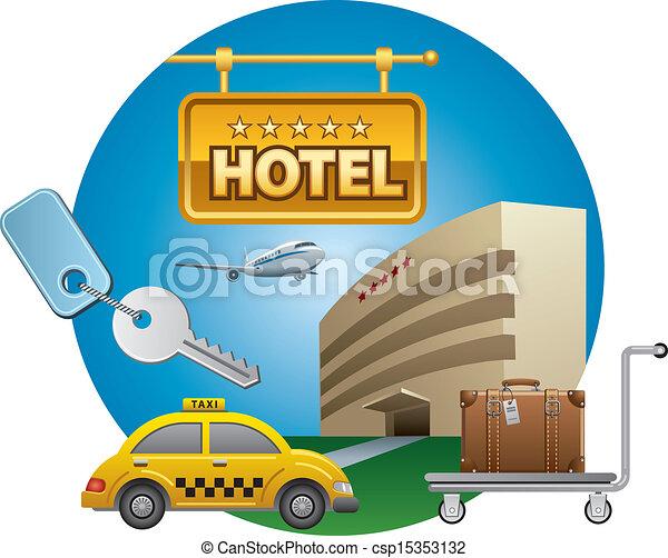 Servicio de hotel - csp15353132