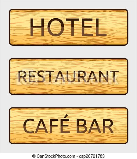 Hotel Sign Board Otel