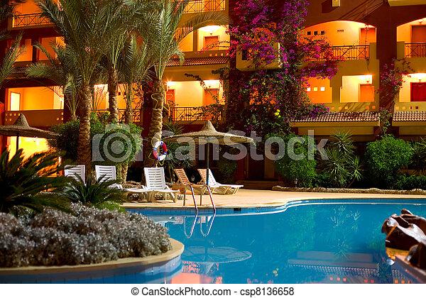 "Hotel ""Sun & Sea"" in Hurgada - csp8136658"