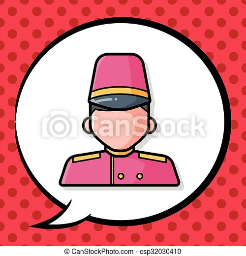 hotel waiter doodle vector clip art search illustration drawings rh canstockphoto com water clipart images water clip art free