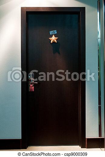 hotel`s door - csp9000309