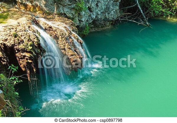 Hotnica Waterfall - csp0897798