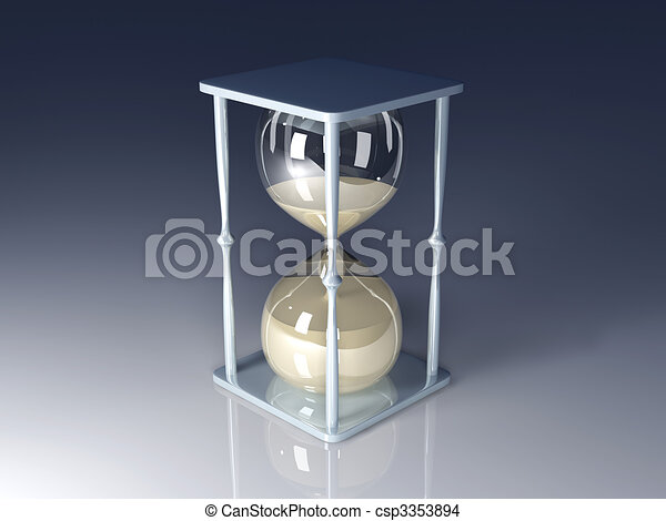 Hour Glass - csp3353894