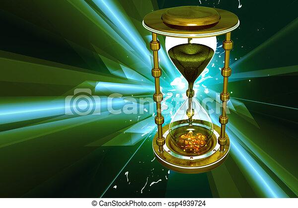 Hour glass  - csp4939724