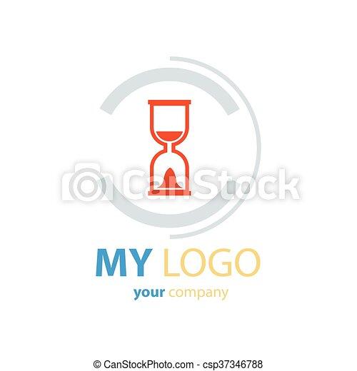 Hourglass Logo Design