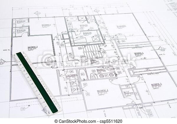 House Blueprints - csp5511620