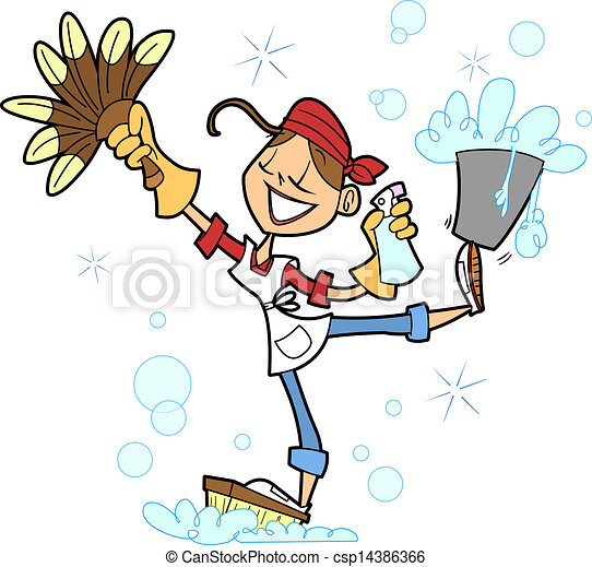 House Cleaner - csp14386366