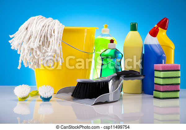 House cleaning product - csp11499754